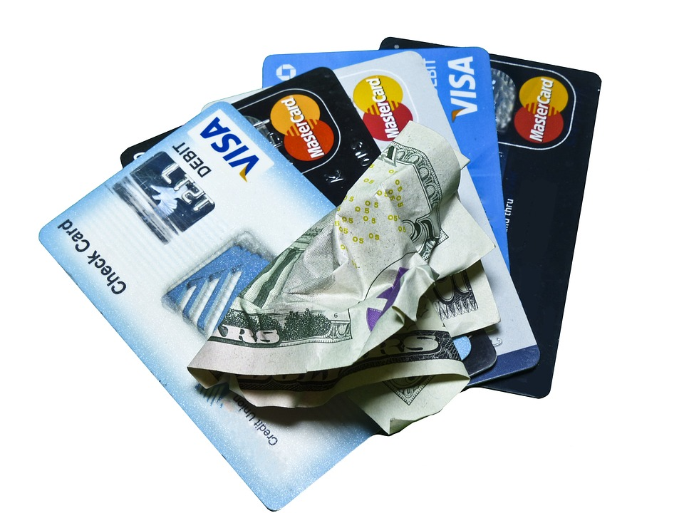 credit-cards with 5 dollars
