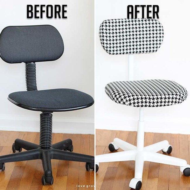 office chair change